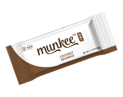 Munkee Bar Coconut Brownie