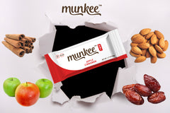 Munkee Bar Apple Cinnamon Energy Bar