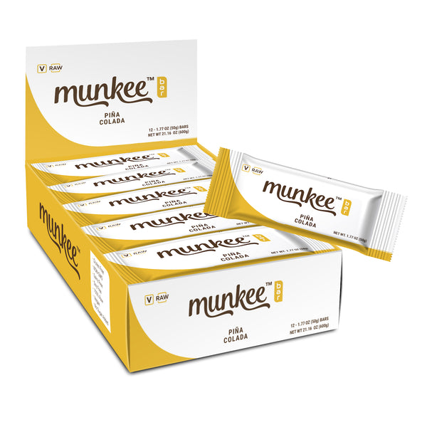 Munkee Bar Pina Colada box of 12