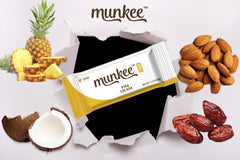 Munkee Bar Pina Colada Energy Bar
