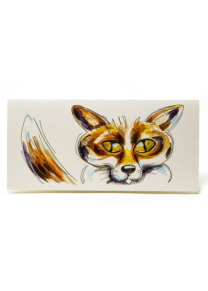 'Frederic' the Fox - A Greeting Card by Susan Leigh