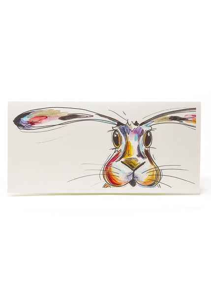 'Hope' the Hare - A Greeting Card by Susan Leigh