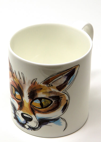 'Frederic' the Fox - A Fine Bone China Mug by Susan Leigh