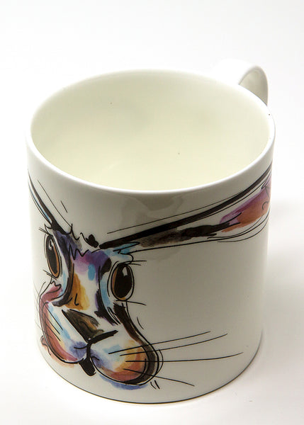 'Hope' the Hare - A Fine Bone China Mug by Susan Leigh