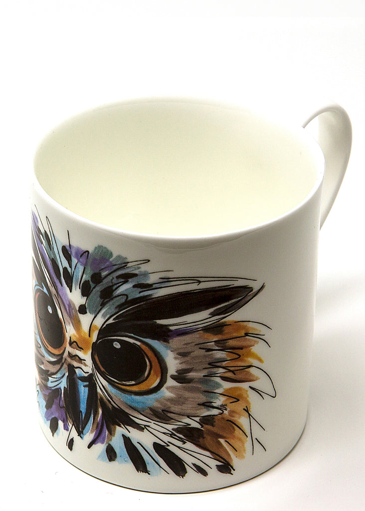 'Oswald' the Owl - A Fine Bone China Mug by Susan Leigh