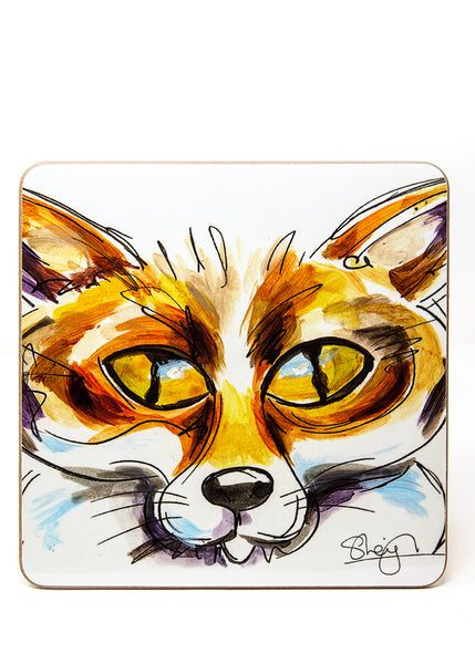 'Frederic' the Fox - A Placemat by Susan Leigh