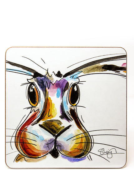 'Hope' the Hare - A Placemat by Susan Leigh