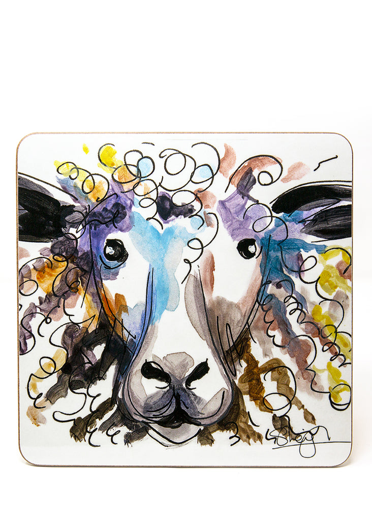 'Sybil' the Sheep  - A Placemat by Susan Leigh