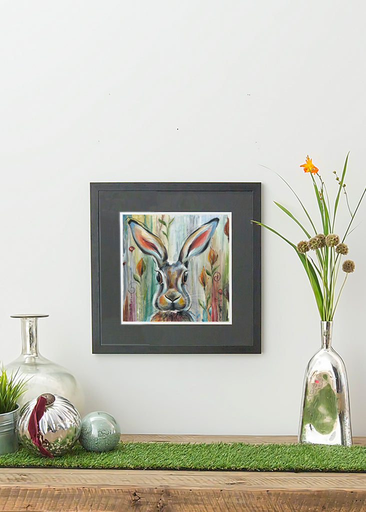 Hare - Framed Print by Susan Leigh