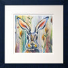 Hare Black Frame with White Mount