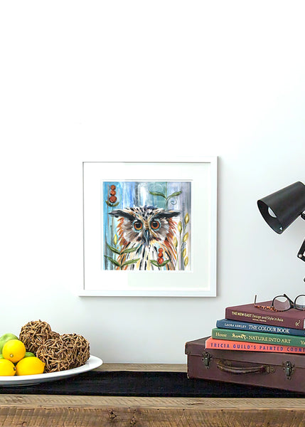 Owl - Framed Print by Susan Leigh