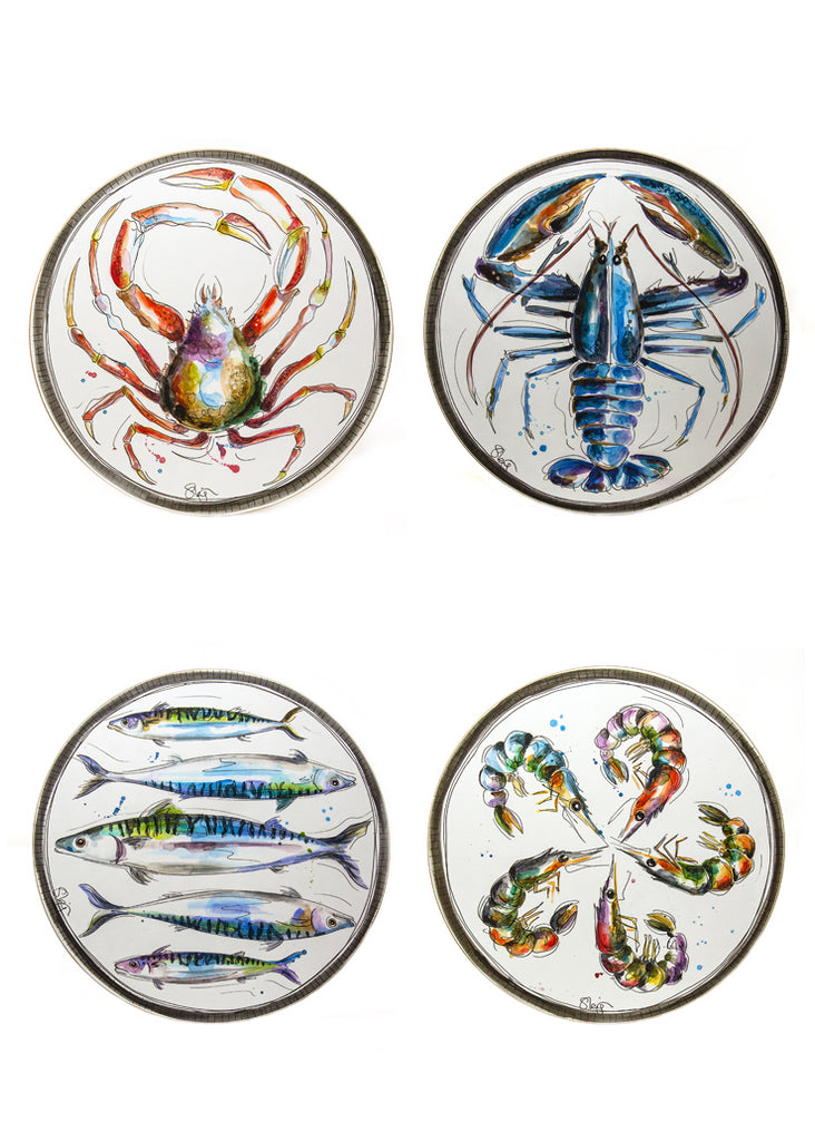 Seaside - Melamine Placemats by Susan Leigh