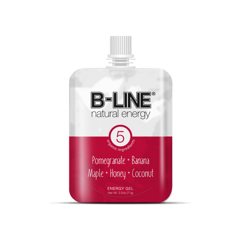 B-Line Natural Energy Pomegranate, Banana, Maple, Honey, Coconut