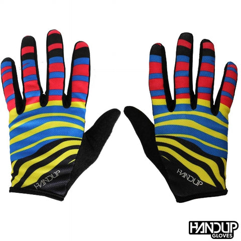 HandUp Gloves STOKED-Zebra Party