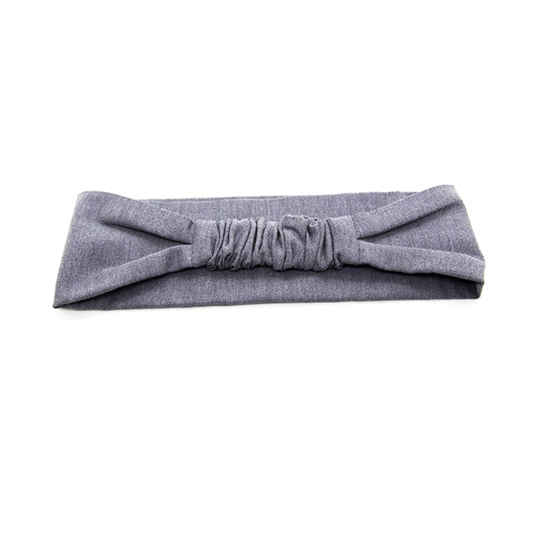 Headband WOODSTAG gris souris