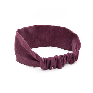 Headband WOODSTAG bordeaux