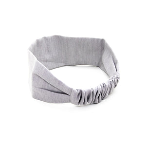 Headband WOODSTAG gris clair