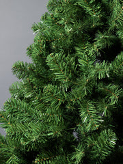Green Colorado Spruce Artificial Christmas tree. 6.5ft tall, 4ft wide