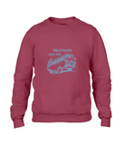 VW, Drop Shoulder Sweatshirt