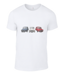 Mini Cooper, Men's Fashion Basic T-Shirt