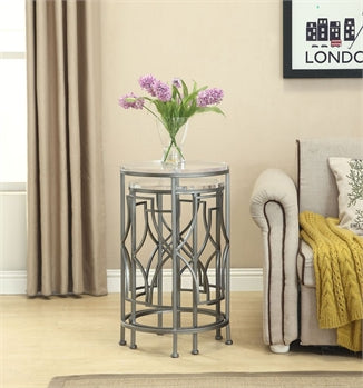 NEST OF TABLES - SET OF 2