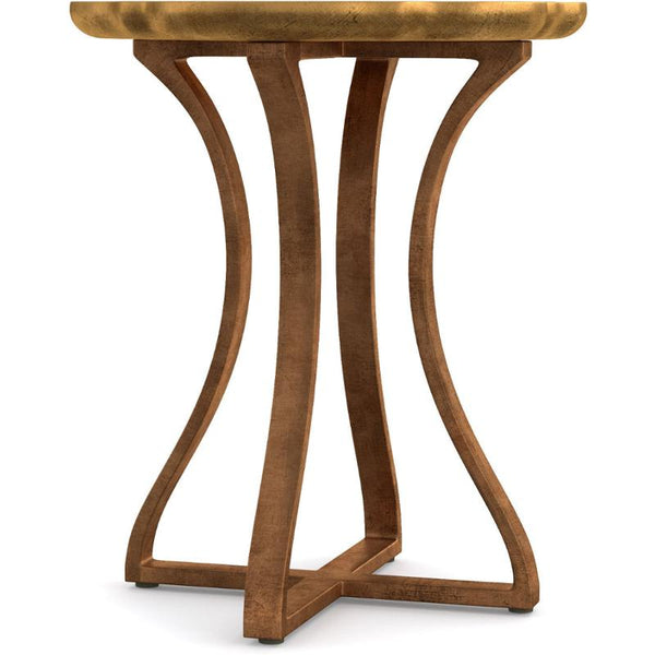 GOLD ROIS ACCENT TABLE
