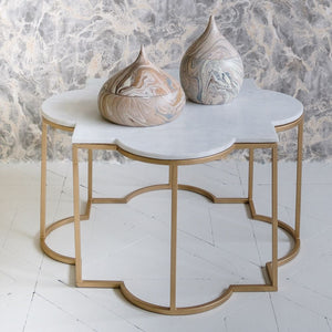 MARBLE TAJ LARGE COFFEE TABLE