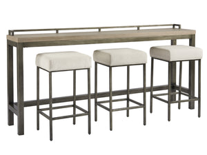 MITCHEL CONSOLE WITH BARSTOOL