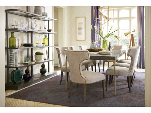 ELEGANT HOME | البيت الأنيق SOLILOQUY DINING TABLE SET FOR 10 PERSONS