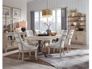 HARLOW DINING ROOM SET FOR 8 PERSONS