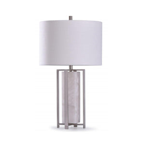 ABYAZ SILVER TABLE LAMP