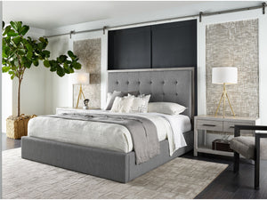 MODERN PANEL KING SIZE BED