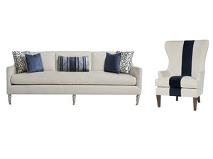 KIAWAH  LIVING SET - 2 SOFAS & 2 CHAIRS