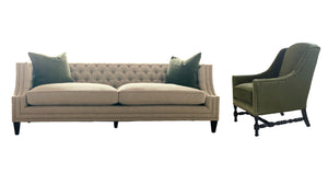 DARLA LIVING SET - 2 SOFAS & 2 CHAIRS