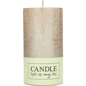 CANDLE CHAMPAGNE 13CM