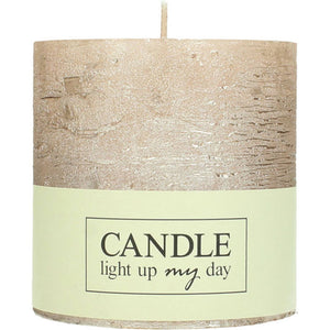 CANDLE CHAMPAGNE 10CM