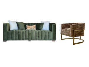 CAYDEN LIVING SET - 2 SOFAS & 2 CHAIRS