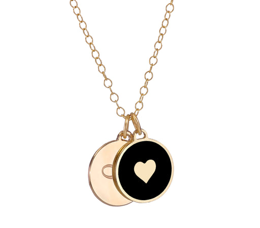 Infinity Love - Double Disc Necklace