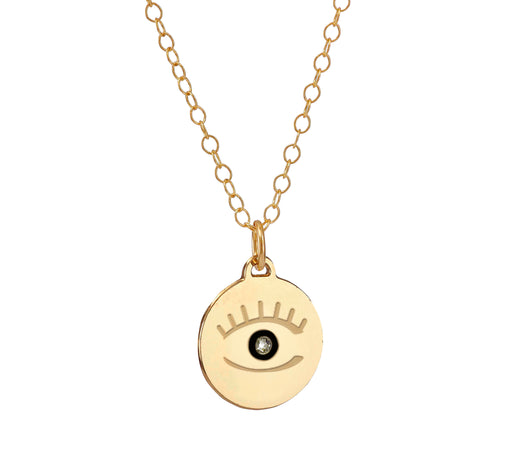 Evil Eye necklace gift vidarosa