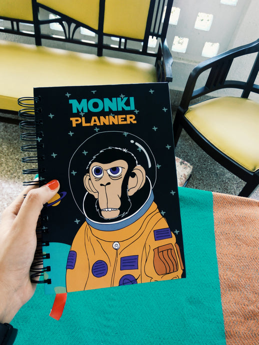Monki Yearly Planner