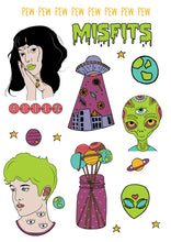 Alien : Sticker Sheet