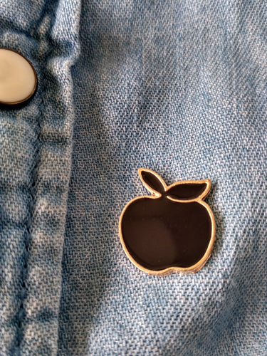 Enamel Pins : Apple