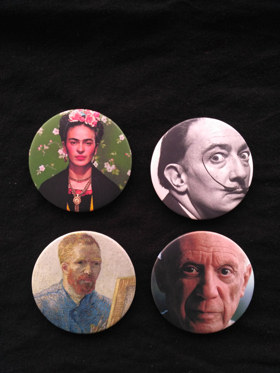 Limited Edition Artist Portrait Buttons