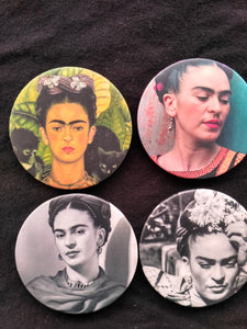 Limited Edition Frida Kahlo Buttons