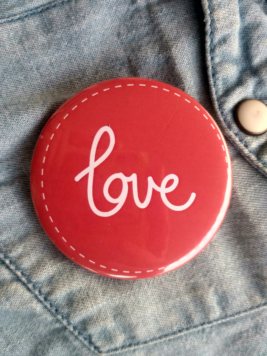 Pin-Back Buttons : love