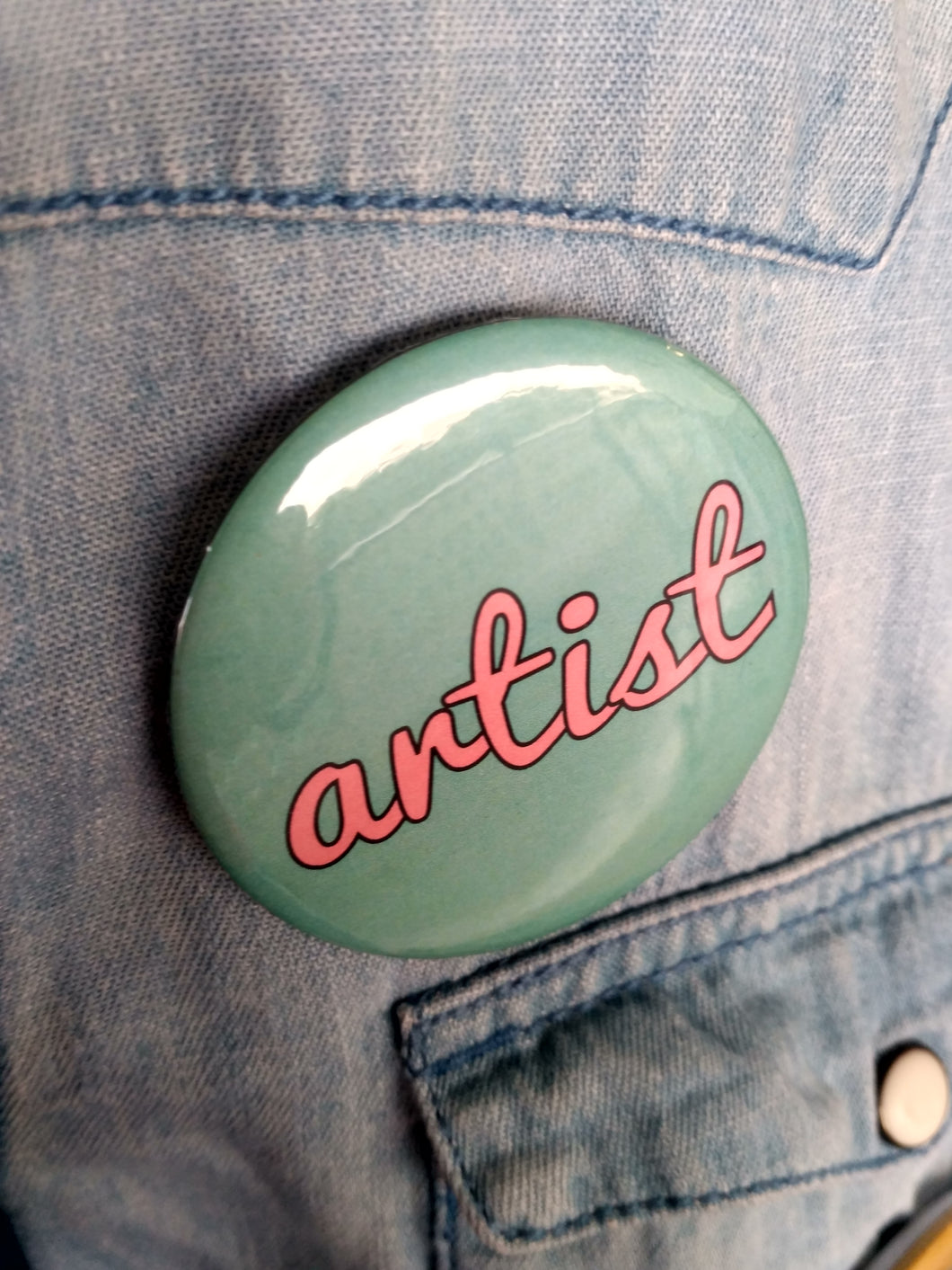 Pin-Back Buttons : Artist
