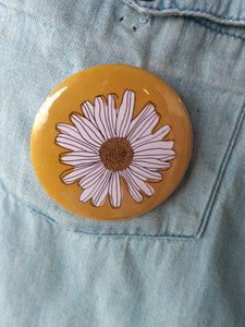 Pin-Back Buttons : Daisy