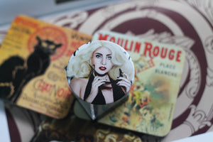 Pin-Back Buttons : Lady Gaga