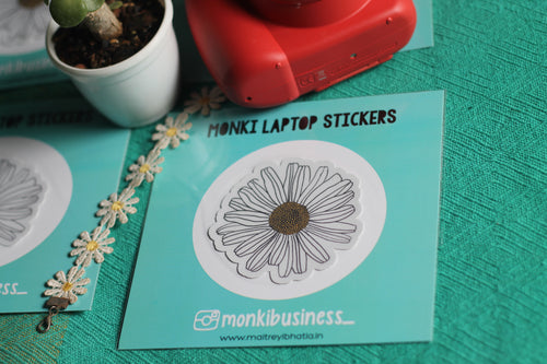 Daisy : Monki Laptop Sticker