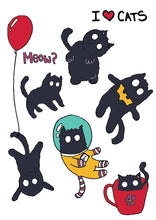 Kitten : Sticker Sheet